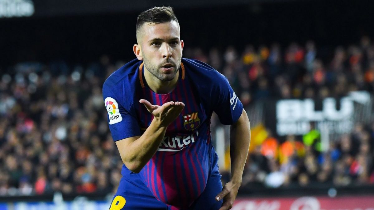 Jordi Alba will sign a new contract at Barcelona