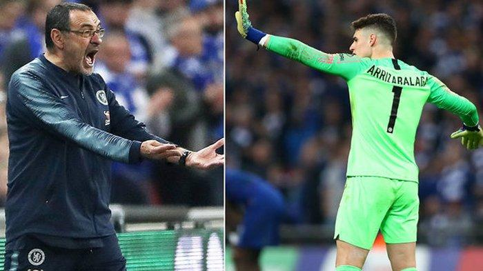 Sarri Clarification Regarding Kepa Attitude