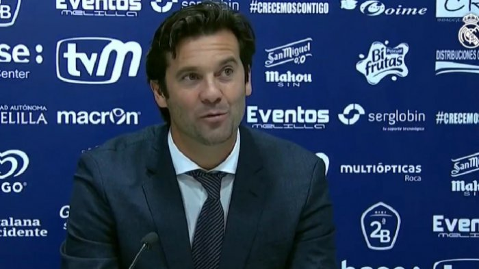Solari Said He Was Happy With Madrid Performance