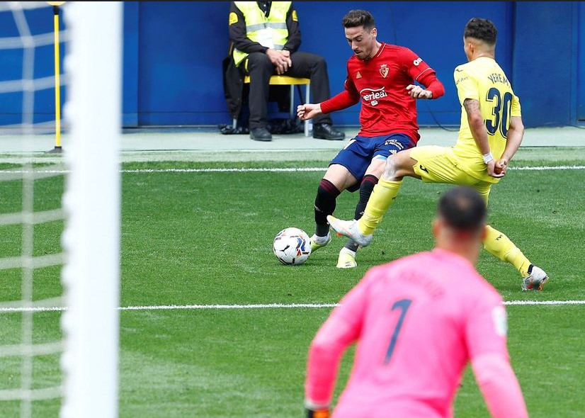 Osasuna memanfaatkan momen melawan Villarreal